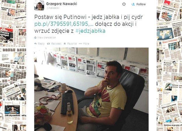 Tweet by Grzegorz Nawacki