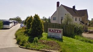 Hatts coaches HQ in Chippenham