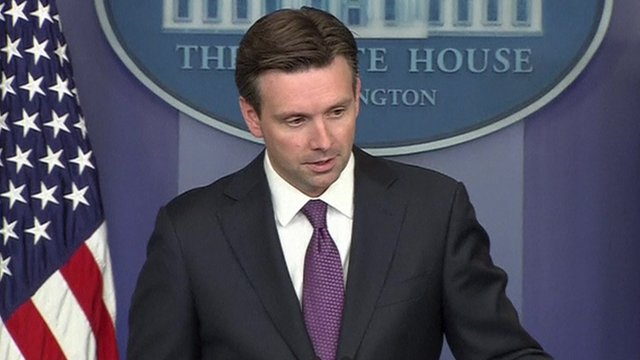 White House spokesman Josh Earnest