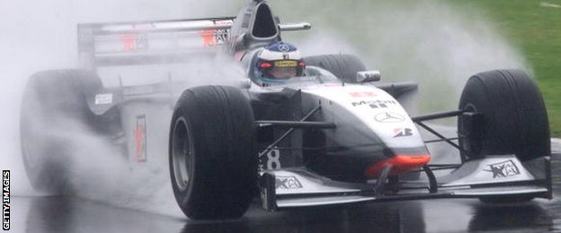 McLaren's Mika Hakkinen