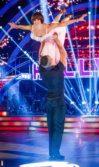 Smith and Flavia Cacace perform during an episode of Strictly Come Dancing