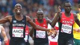 Nijel Amos wins 800m gold ahead of David Rudisha