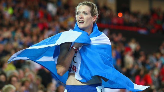 Scotland's 400m hurdler Eilidh Child
