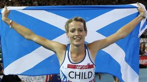 Scotland's Eilidh Child