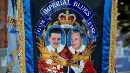 Banner of Joe Bratty and Raymond Elder