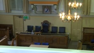Oxford City council chamber