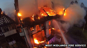 Northfield Manor House fire