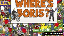 Cover of the Where's Boris book from Orion