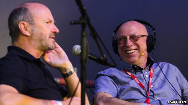 Radio Two's Ken Bruce catches up with Fred MacAulay of Radio Scotland