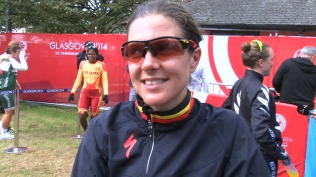 Manx cyclist Laura Wasley