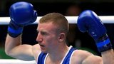 Paddy Barnes produced a dominant semi-fnial display to guarantee himself another major medal