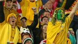 Wallabies supporters