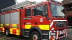 North Wales fire tender
