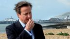 David Cameron in Eastbourne