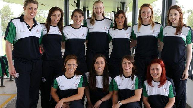 Northern Ireland Commonwealth Netball team
