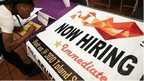 job seeker plus now hiring sign