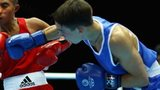 Michael Conlan of Northern Ireland in action at Glasgow 2014