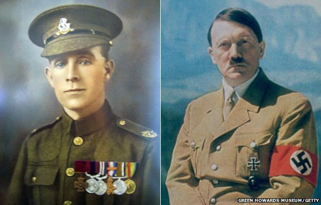 Tandey and Hitler: The British hero who did not shoot Hitler