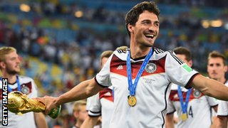 Mats Hummels has won 36 caps for Germany