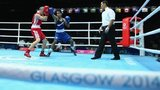 Boxing underway at Glasgow 2014 Commonwealth Games