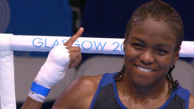 Nicola Adams through to box for gold