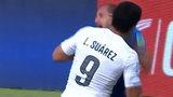 Luis Suarez appears to bite Giorgio Chiellini