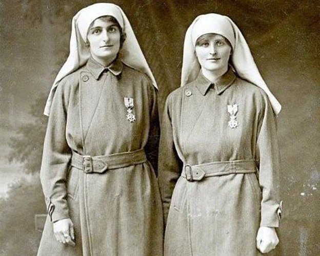British 'angels' who braved WW1 trenches