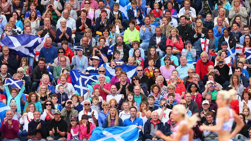 Crowd in Hampden Park