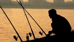 Fisherman, Shamian island. Guangzhou