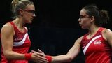 Laura Massaro and Jenny Duncalf