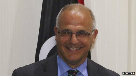 Michael Aron in Tripoli on June 4