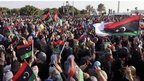 Protests against Islamist militants have been taking place in Libya