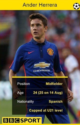 Ander Herrera stat