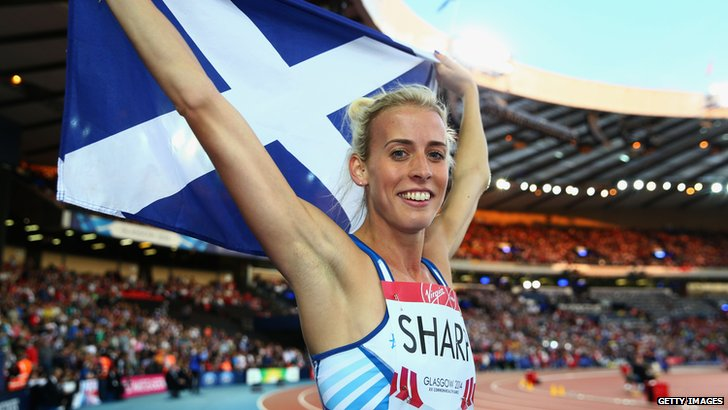 Lynsey Sharp, Commonwealth 800m silver medallist