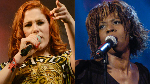 Katy B and Heather Small