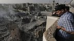Mosque hit in Gaza City, 2 Aug