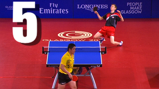 Liam Pitchford falls to his knees during a cruel semi-final defeat