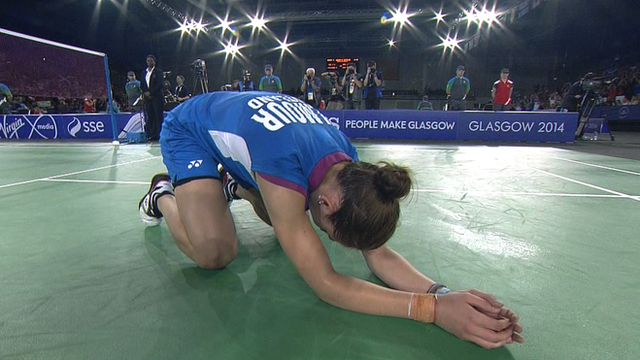 Glasgow 2014: Scotland's Kirsty Gilmour through to final