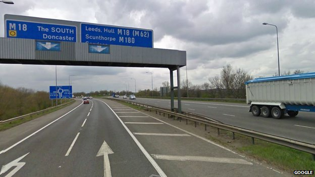 M180/18 junction