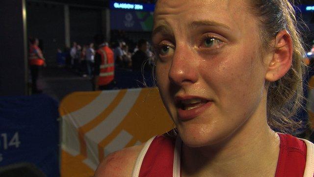 Northern Ireland's Michaela Walsh after winning silver in women's flyweight