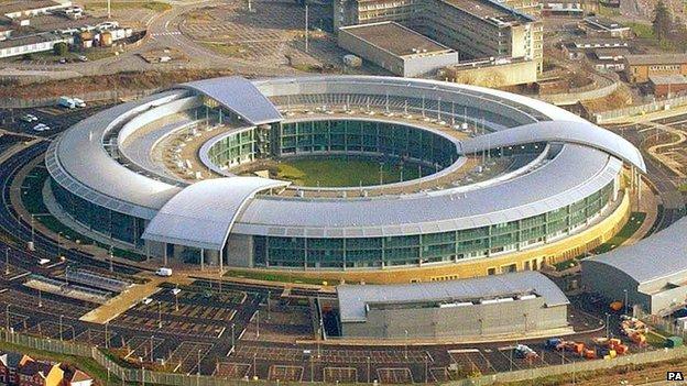 GCHQ en Cheltenham