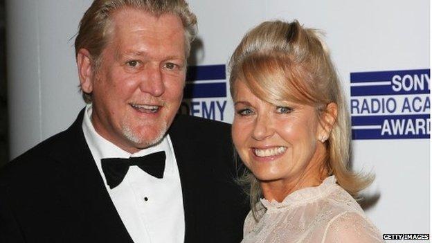 Mike Smith and Sarah Greene