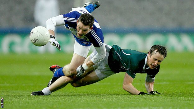 Monaghan's Conor McManus and Kildare's Ollie Lyons