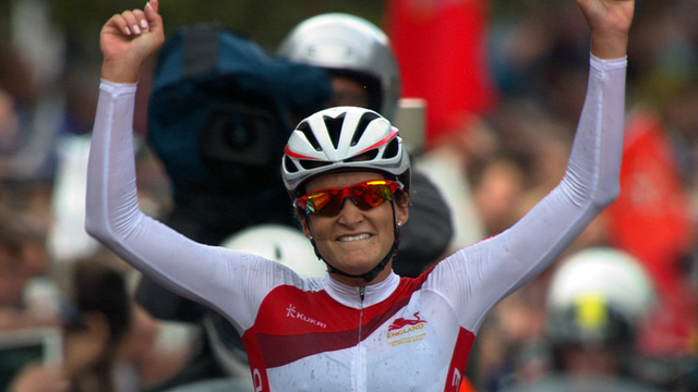 Commonwealth road race champion Lizzie Armitstead
