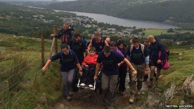 Jacob Rafferty's Snowdon challenge