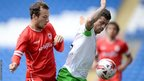 Cardiff City were held to a 3-3 draw by German side VFL Wolfsburg in their final pre-season friendly at Cardiff City Stadium.