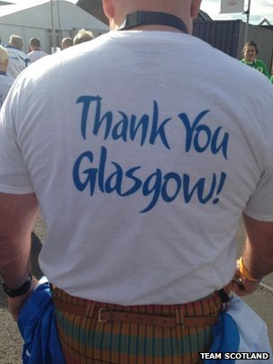 Team Scotland t-shirt