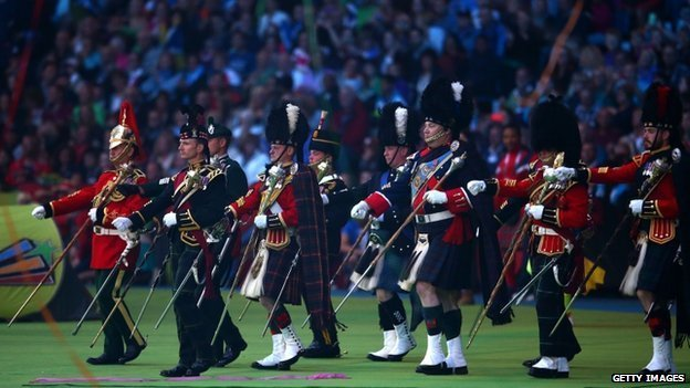 Royal Edinburgh Military Tattoo at closing ceremony