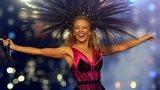 Kylie Minogue performs