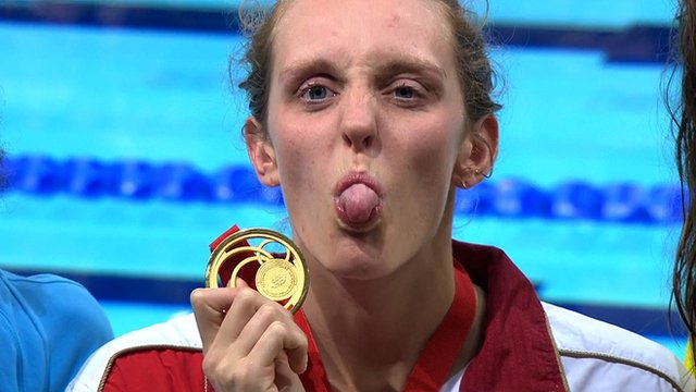 BBC Sport looks at the lighter moments of the Games